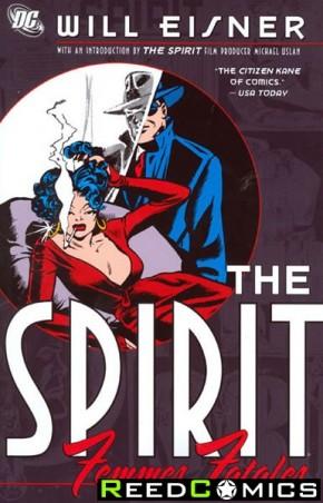 Spirit Femme Fatales Graphic Novel