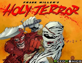 Holy Terror Hardcover by Frank Miller