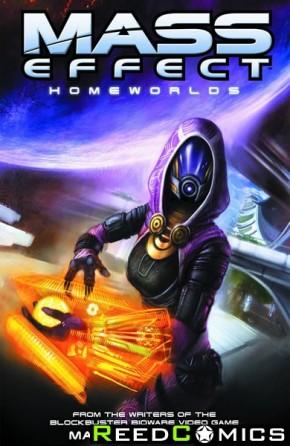 Mass Effect Volume 4 Homeworlds Graphic Novel