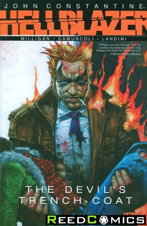 Hellblazer The Devils Trench Coat Graphic Novel