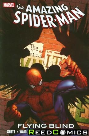 Amazing Spiderman Flying Blind Graphic Novel