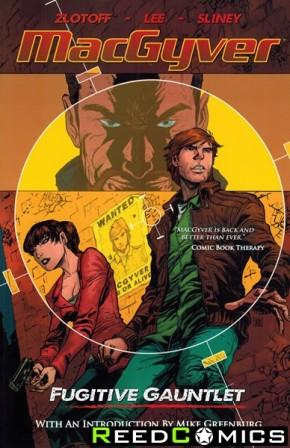 Macgyver Fugitive Gauntlet Graphic Novel