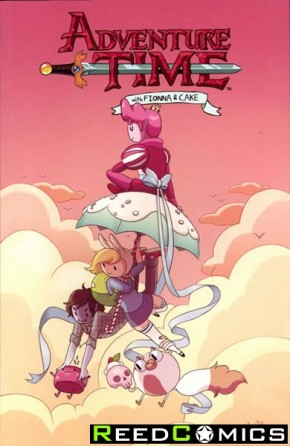 Adventure Time Fionna and Cake Graphic Novel