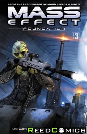 Mass Effect Foundation Volume 3 Graphic Novel
