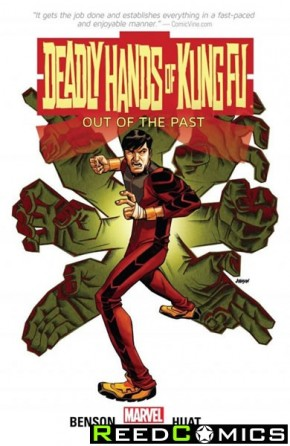 Deadly Hands of Kung Fu Out of the Past Graphic Novel