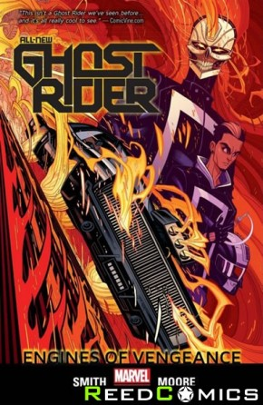 All New Ghost Rider Volume 1 Engines of Vengeance Graphic Novel