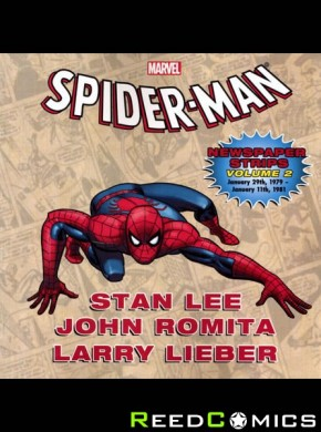 Spiderman Newspaper Strips Volume 2 Graphic Novel