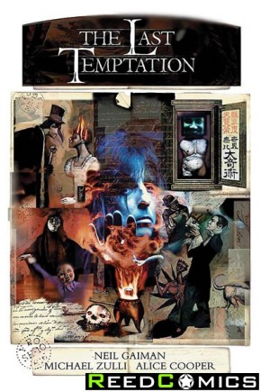 Neil Gaimans The Last Temptation Hardcover