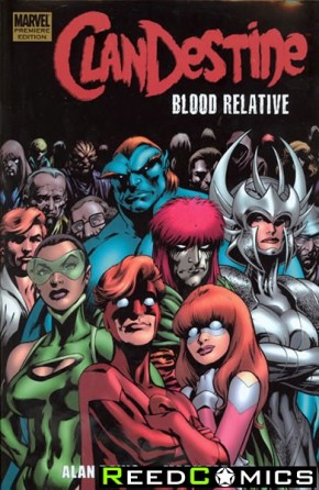 Clandestine Blood Relative Premier Hardcover