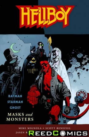 Hellboy Masks and Monsters Graphic Novel