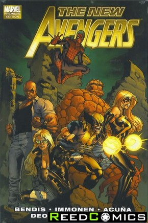 New Avengers by Brian Michael Bendis Volume 2 Hardcover