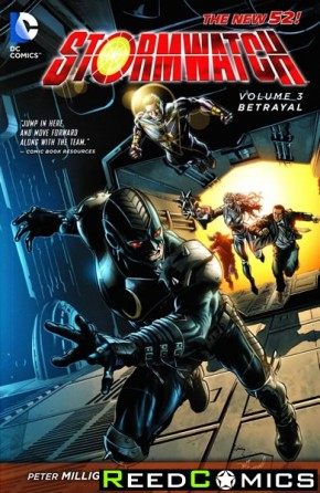 Stormwatch Volume 3 Betrayal Graphic Novel
