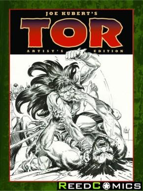 Joe Kubert Tor Artist Edition Hardcover