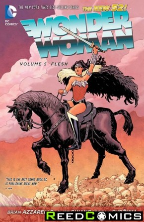 Wonder Woman Volume 5 Flesh Hardcover
