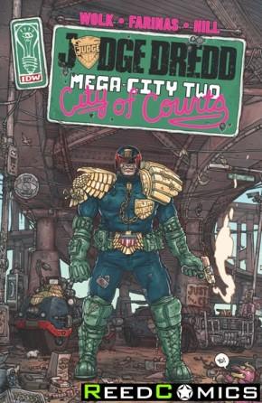 Judge Dredd Mega City Two Graphic Novel