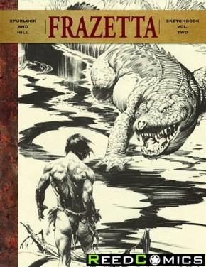 Frank Frazetta Sketchbook II Hardcover