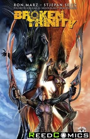 Broken Trinity Volume 1 Graphic Novel