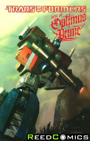 Transformers Best of Optimus Prime Graphic Novel