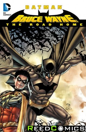 Batman Bruce Wayne The Road Home Hardcover