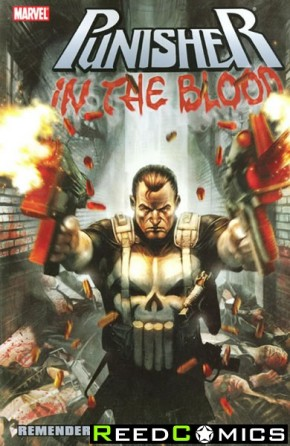Punisher In The Blood Graphic Novel