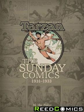Burroughs Tarzan Sunday Comics 1931 to 1933 Volume 1 Hardcover
