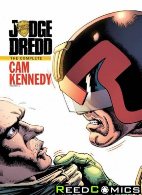 Judge Dredd Cam Kennedy Collection Volume 1 Hardcover
