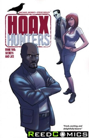 Hoax Hunters Volume 2 Secrets and Lies Graphic Novel