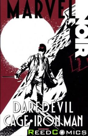 Marvel Noir Daredevil Cage Iron Man Graphic Novel