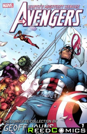 Avengers the Complete Collection by Geoff Johns Volume 1 Graphic Novel