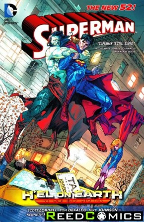Superman Hel on Earth Graphic Novel