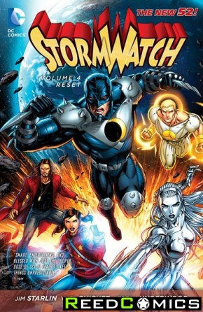 Stormwatch Volume 4 Reset Graphic Novel