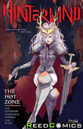 Hinterkind Volume 3 The Hot Zone Graphic Novel