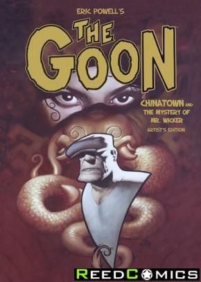 Eric Powel The Goon Chinatown Artist Edition Hardcover