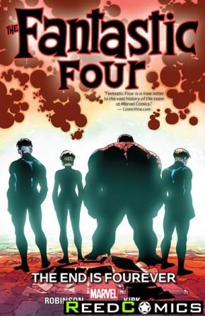 Fantastic Four Volume 4 End is Fourever Graphic Novel
