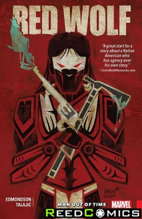 Red Wolf Volume 1 Man Out of Time Graphic Novel