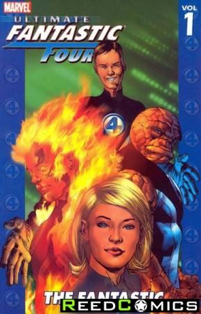 Ultimate Fantastic Four Volume 1 The Fantastic Graphic Novel