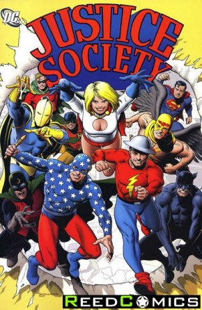 Justice Society Volume 1 Graphic Novel
