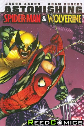 Astonishing Spiderman and Wolverine Hardcover