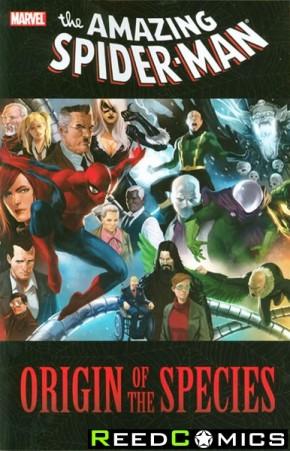 Amazing Spiderman Origin Of The Species Graphic Novel