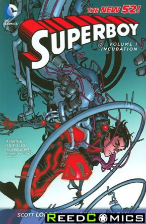 Superboy Volume 1 Incubation Graphic Novel
