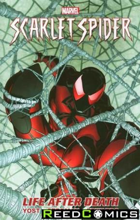 Scarlet Spider Volume 1 Life After Death Premiere Hardcover
