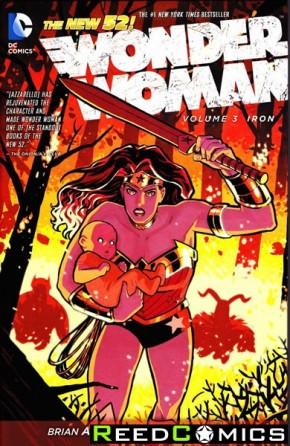Wonder Woman Volume 3 Iron Hardcover