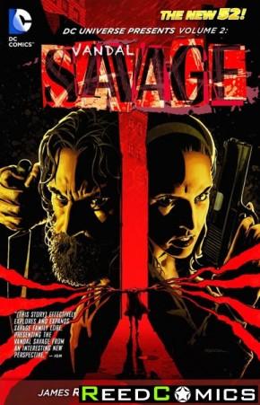 DC Universe Presents Volume 2 Vandal Savage Graphic Novel