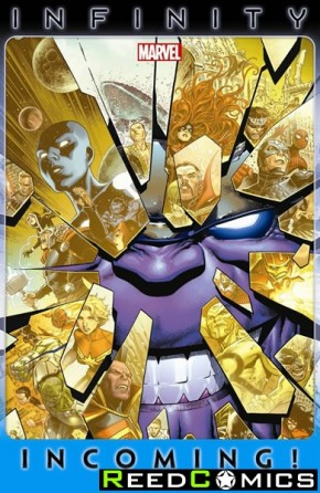 Infinity Incoming Graphic Novel