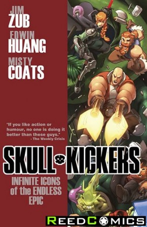 Skullkickers Volume 6 Infinite Icons of the Endless Epic Graphic Novel