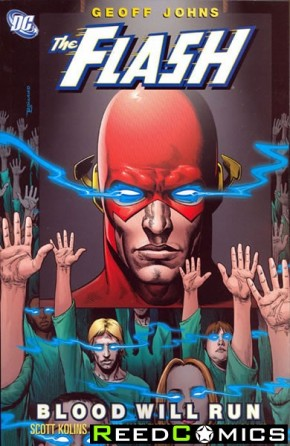 Flash Blood Will Run Graphic Novel