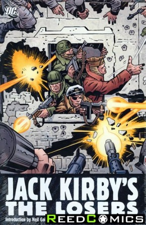 The Losers by Jack Kirby Hardcover