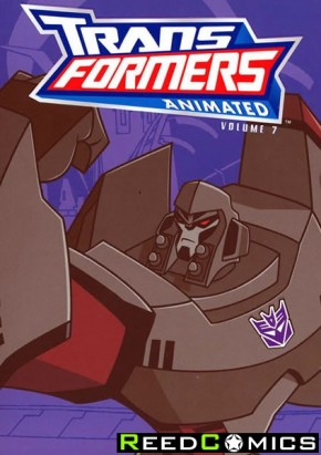 Transformers Animated Cartoon Volume 7 Graphic Novel