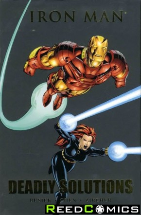 Iron Man Deadly Solutions Premiere Hardcover