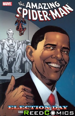 Amazing Spiderman Election Day Graphic Novel